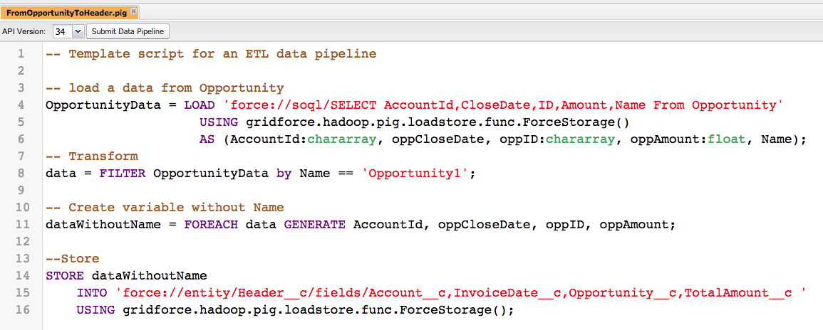 Data Pipeline and Salesforce – Do not break the rules – Agustina odeian